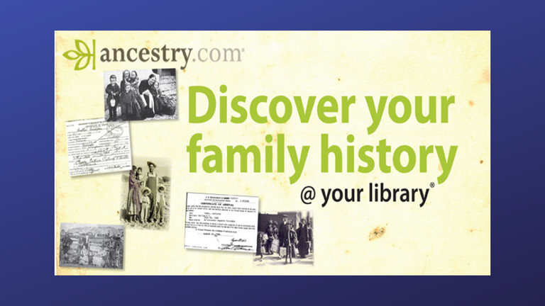 Ancestry @ Your Library